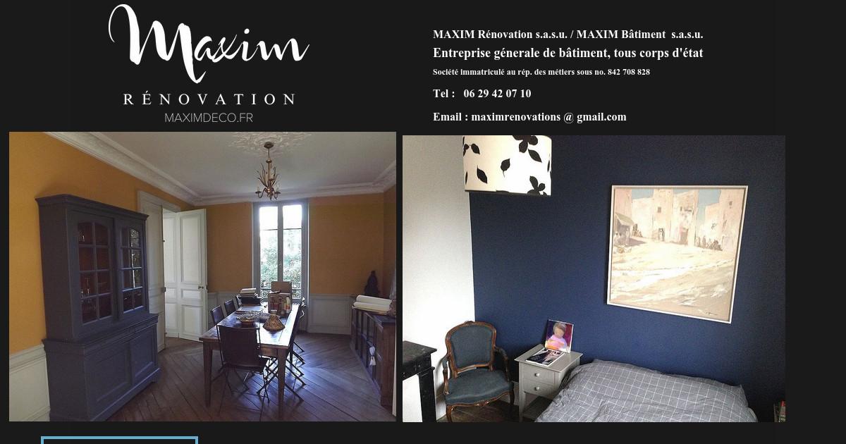 entreprise de r novation. Black Bedroom Furniture Sets. Home Design Ideas